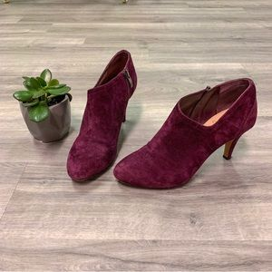 Vince Camuto Purple Booties Size 7